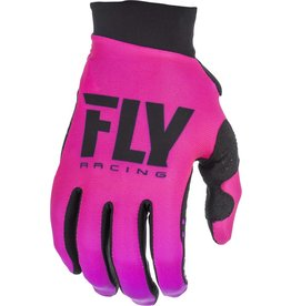FLY RACING Gloves Fly Racing Women's Pro Liteneon Pink/Black
