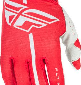 FLY RACING Glove Fly Lite  Red/Grey Sz11