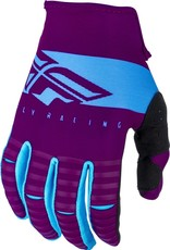 FLY RACING Gloves Fly Racing  Kinetic Shield  Port/Blue Sz 10