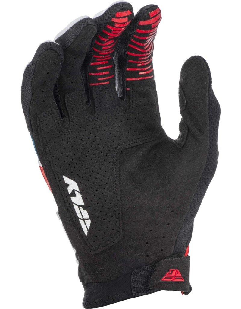 FLY RACING Gloves Fly Racing Evolution Dst  Red/Blue/Black Sz 10