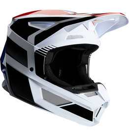 FOX RACING V2 HAYL HELMET BLU/RD