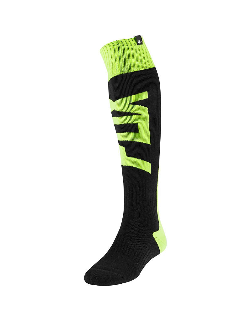 FOX RACING FRI THICK SOCK - FYCE FLO YLW
