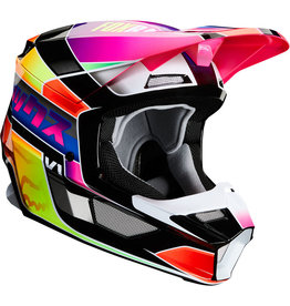 FOX RACING V1 YORR HELMET BLU/RD