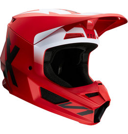 FOX RACING V1 WERD HELMET FLM RD