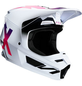 FOX RACING V1 WERD HELMET WHT