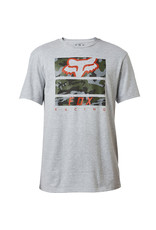 FOX RACING PICKUP SS TEE  LT HTR GRY