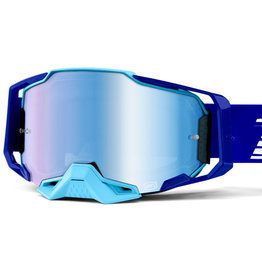100% Goggle 100% Armega Royal Blu  lens