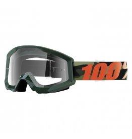 100% Goggle 100% Strata Huntsitan clr lens