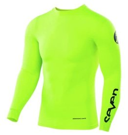 SEVEN ZERO BLADE COMPRESSION JERSEY-Flow Yellow-