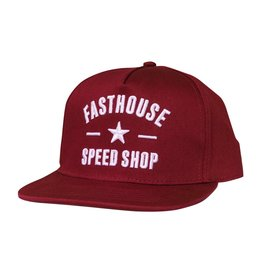Fasthouse Fasthouse Fh Speed Star Hat Maroon