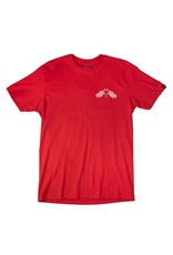 Fasthouse Fasthouse Finish Line Tee Red