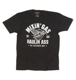 Fasthouse Fasthouse Mixin Gas Tee Black