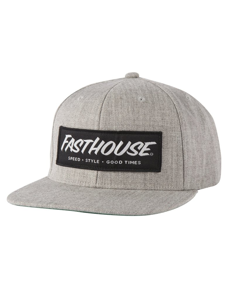 Fasthouse Fasthouse Speed Style Good Times Hat  Grey
