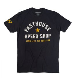 Fasthouse Fasthouse Fast Life  Tee Black