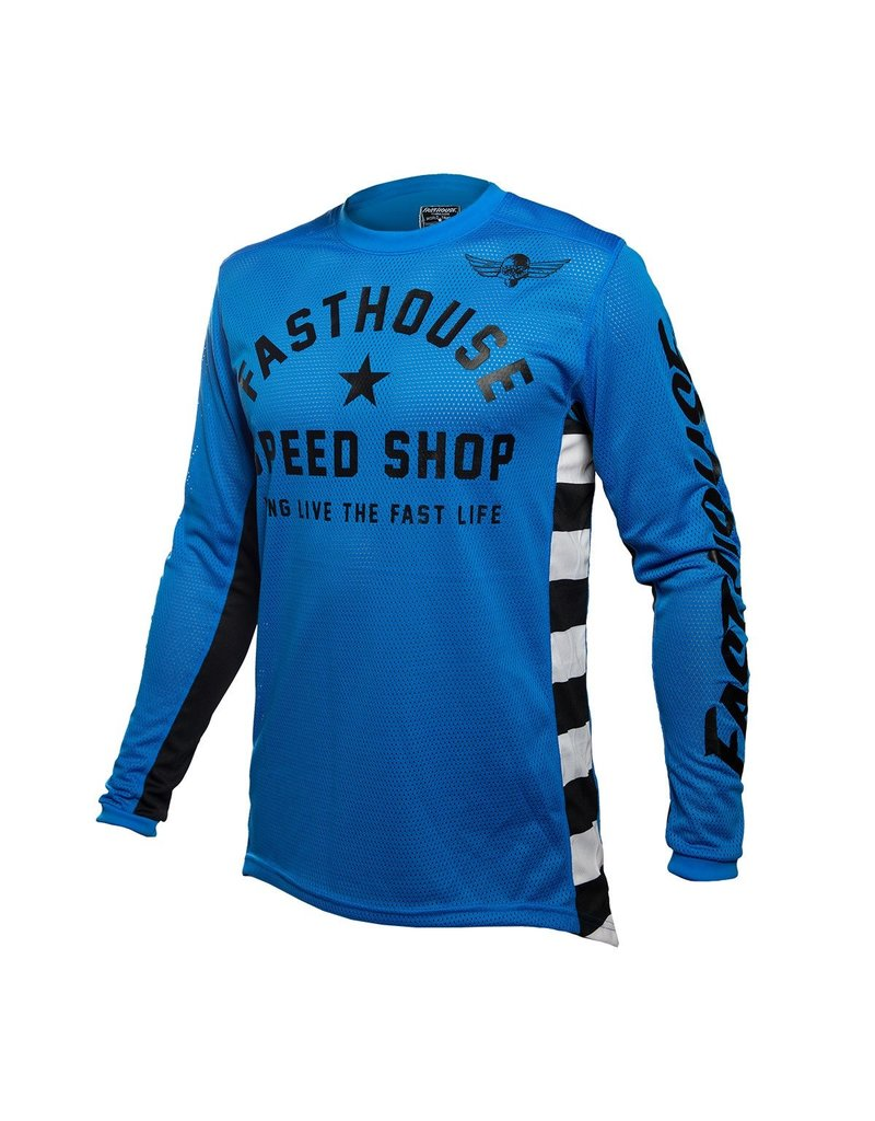 Fasthouse Fasthouse Originals Air Cooled L1   Jersey Blue