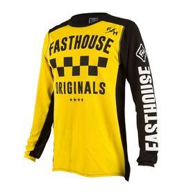 Fasthouse Fasthouse  Checkers OG  Jersey Yellow