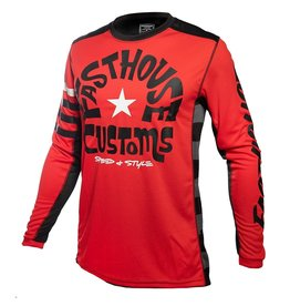 Fasthouse Fasthouse funkhouse L1   Jersey Red