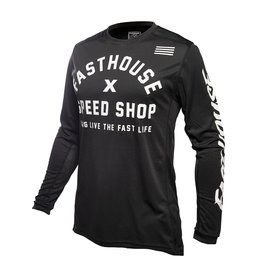 Fasthouse Fasthouse Grindhouse Heritage  Jersey Black