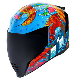 Helmet  Icon Airflite Inky Blue  Lg