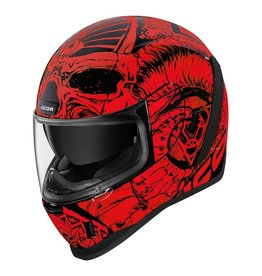 ICON Helmet  Icon Afrm Sacrosnct Rd  LG