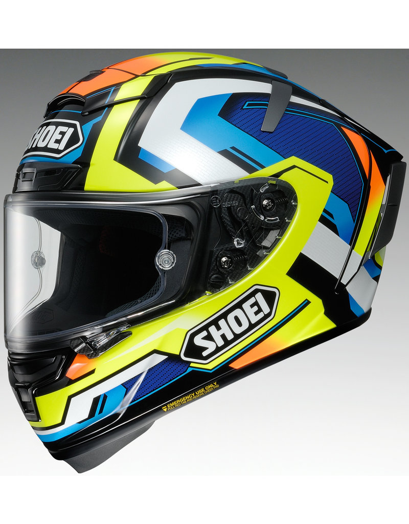 SHOEI Helmet Shoei X-14 Brink Tc-10 Lrg