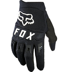 FOX RACING YTH DIRTPAW GLOVE - RACE BLK WHT