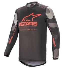 ALPINESTARS JERSEY ALPINESTAR RACER TACTICAL CAMO GRY RED