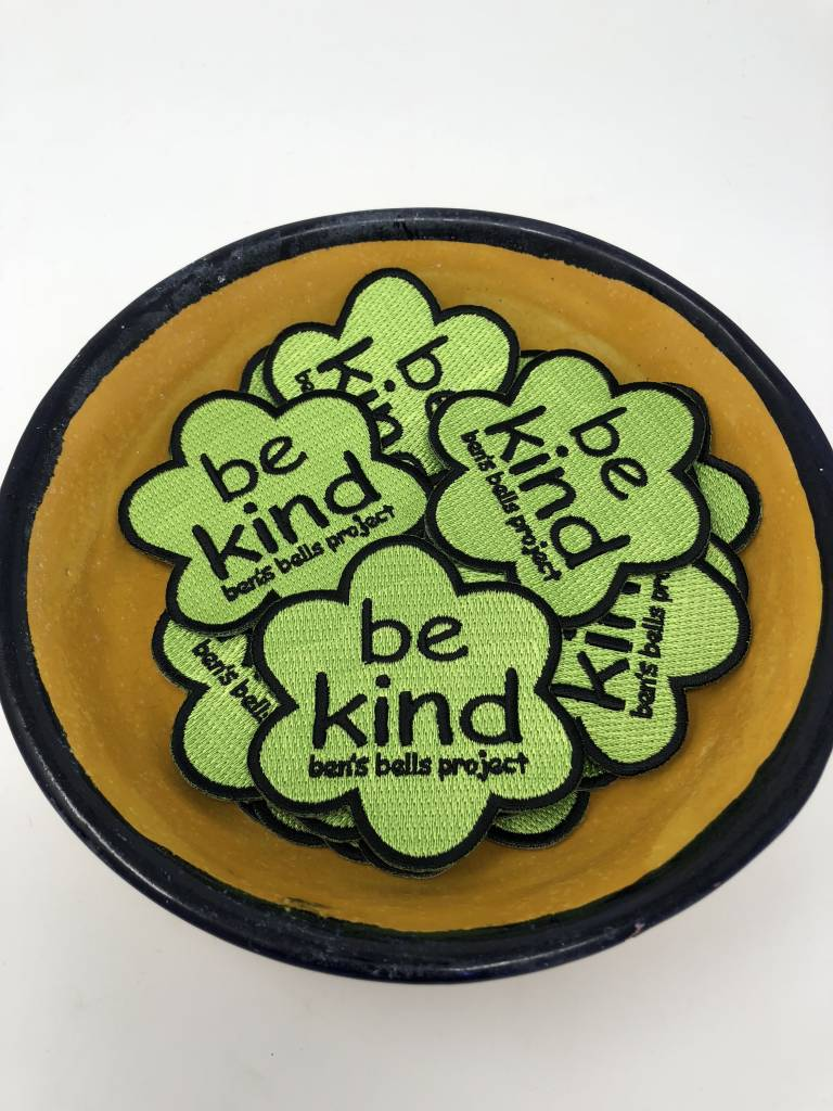 """Be Kind"" Iron-on Patch"