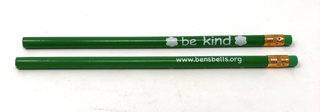 """Be Kind"" Newsprencil"