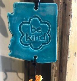 Arizona State Ornament - Blue