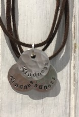 Necklace - Kindness Disc Pendant