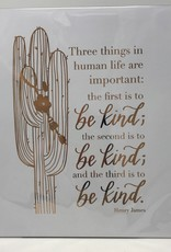 Sweetpeet Lettering Copper Foil Print 8 x 10 - Three Things