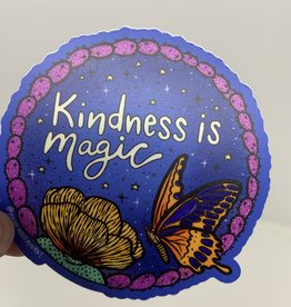 Vinyl Sticker - Kindness is Magic
