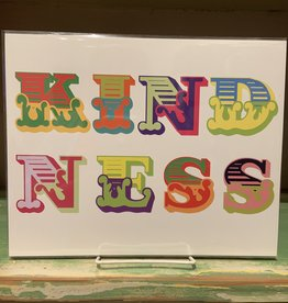 Kindness Lettering Print 8 x 10