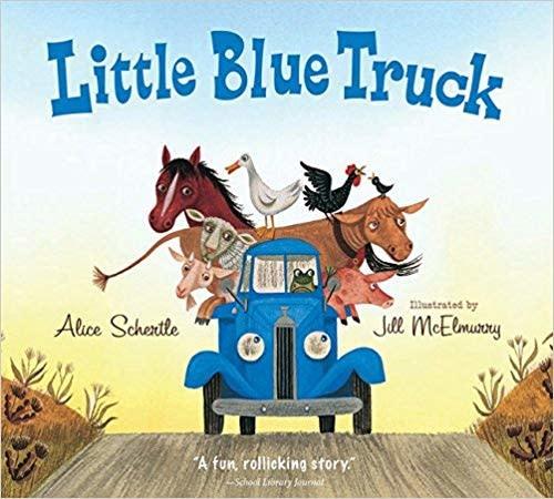 """""""Little Blue Truck"""" Board Book"""