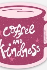 Vinyl Sticker - Coffee & Kindness