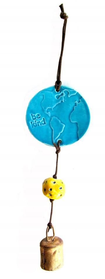 """Be Kind"" Earth Ornament"