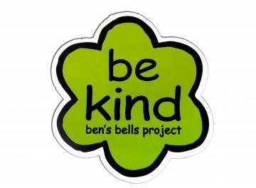 """Be Kind"" Car Magnet"