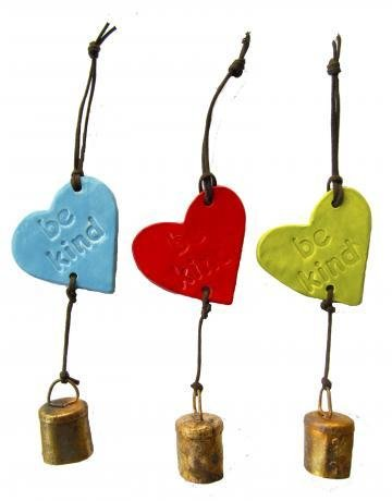 "Ben's ""Be Kind"" Heart Ornament"