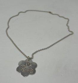 Silver Precious Metal Clay Necklace