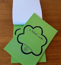 Sticky Kind Note Pad (25/pd)