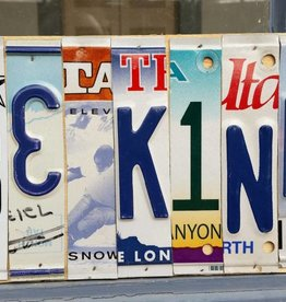 """""""Be Kind"""" License Plate"""