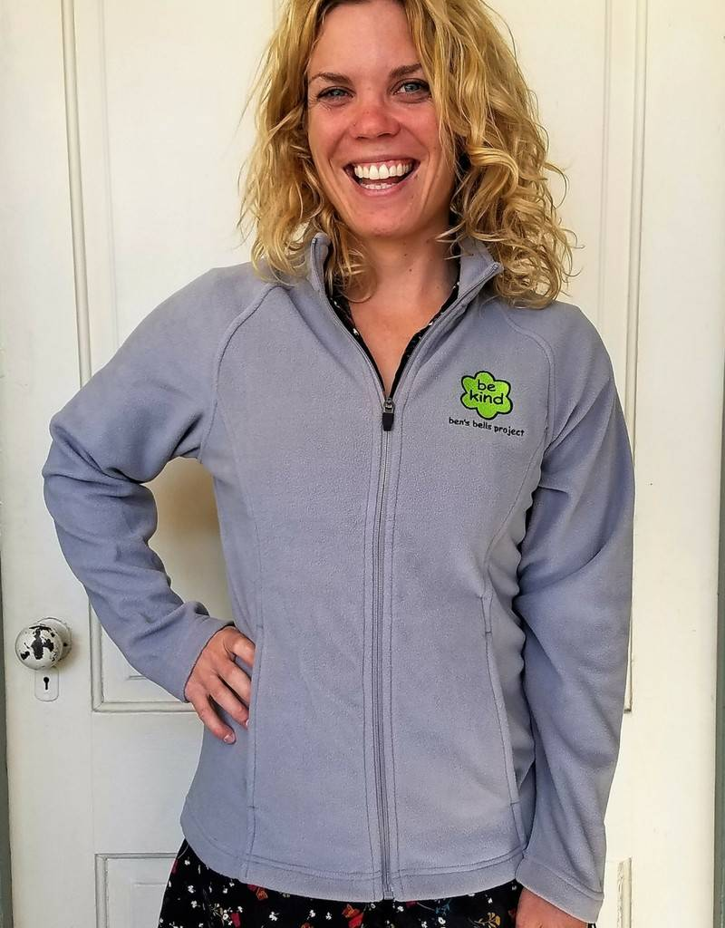 "Women's ""Be Kind"" Fleece Full-Zip"