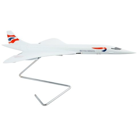 Concorde British Airways Union Jack Livery 1:100