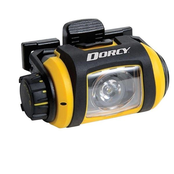 Dorcy Flashlight LED Headlamp Pro 200 Lumens (2 x AA batteries - included)