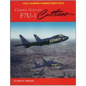 Naval Fighters Chance Vought F7U1 Cutlass: Naval Fighters #94 SCcover