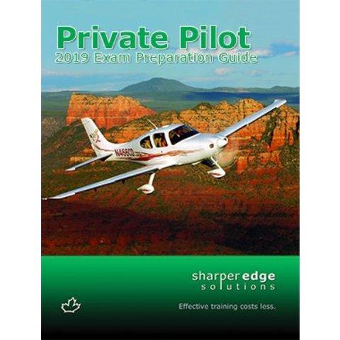 Private Pilot Exam Preparation Guide 2019 softcover