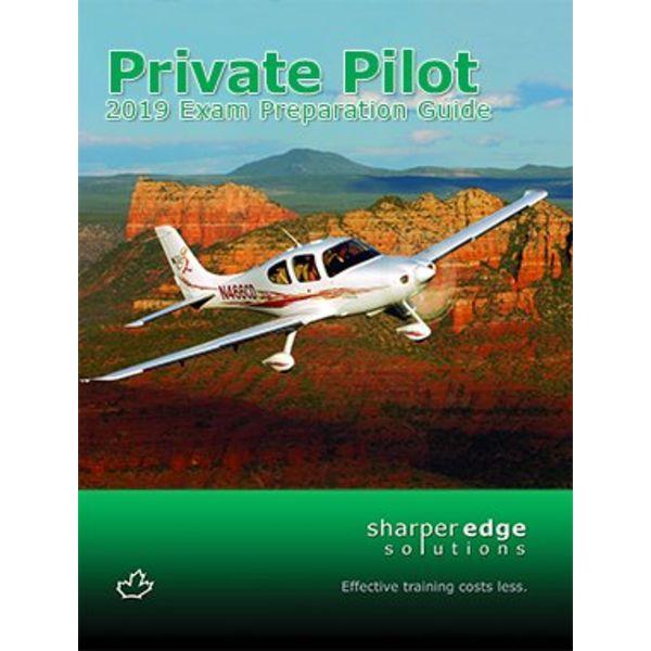 Sharper Edge Private Pilot Exam Preparation Guide 2019 softcover