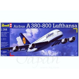 Revell A380-800 LUFTHANSA 1:144 Plastic Kit