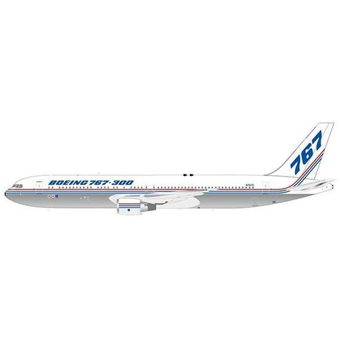 B767-300 Boeing House Livery N767S 1:200 with stand